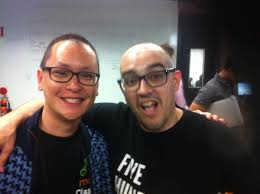Chilling with Dave McClure from 500 Startups